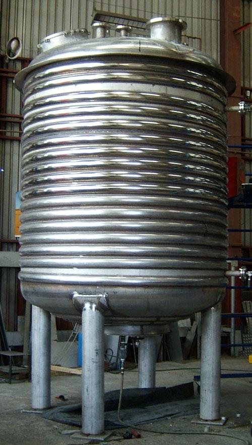 photo d'une réalisation de chaudronnerie industrielle