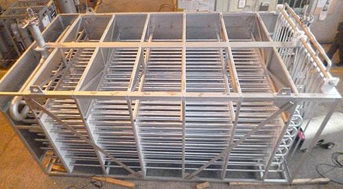 Photo d'une réalisation de cryogénie par cephi